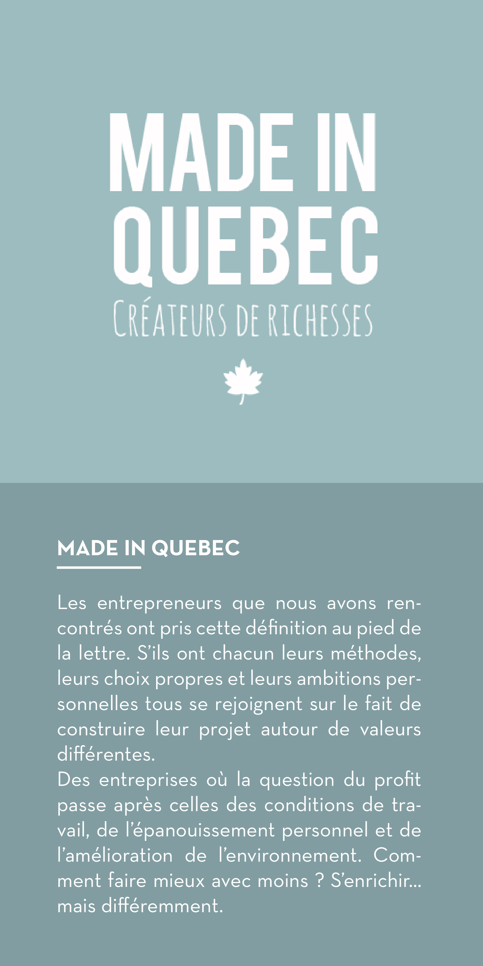 quebec texte intro